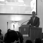President Visits Churches as Part of Black History Month