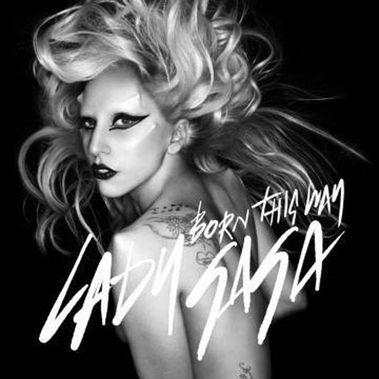 lady gaga born this way cd cover image. Lady Gaga steps out of her egg