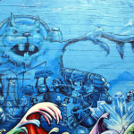 Expressive Oakland Mural Tackles Water Conservation Issue