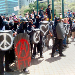 Tear Gas Engulfs Occupy  Oakland Protesters on May Day