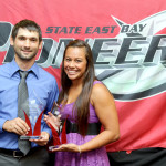Pioneers Are Honored at Athletics Banquet