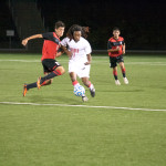 Men's Soccer Shut Out by Stanislaus In Physical Game