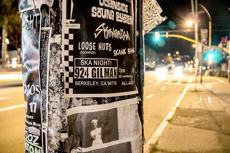 The+Gilman+is+well+respected+in+the+local+Bay+Area+music+scene.