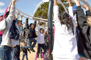 Ceremony unveils new $62,000 playground structure