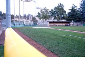 Baseball field better equipped for rain