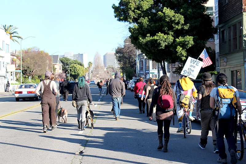 Residents protest Oakland's proposed citywide surveillance system