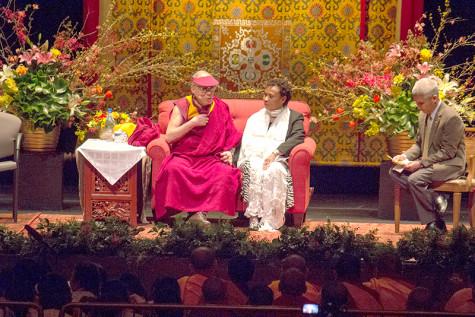 Dalai Lama in Berkeley