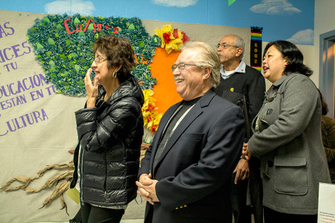 Unveiled mural hopes to bridge gaps between community and students