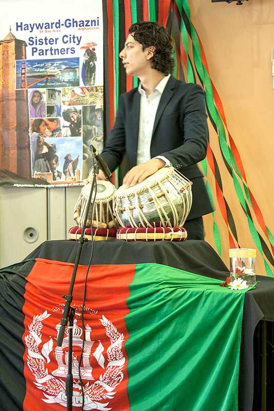 Afghan folk music was played to celebrate Nowruz.