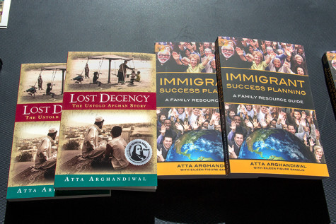 """Atta Arghandiwal wrote """"Immigrant Success Planning,"""" a self-help book for the younger generation."""