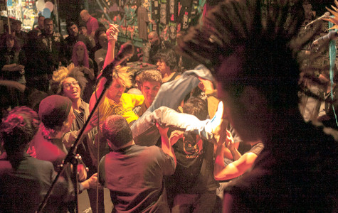 Bay Area punk community's stage same size for all bands