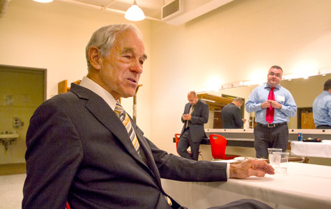 Ron Paul preaches the values of smaller government