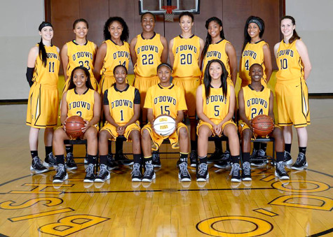 The 2014 Bishop O'Dowd's women's basketball team.