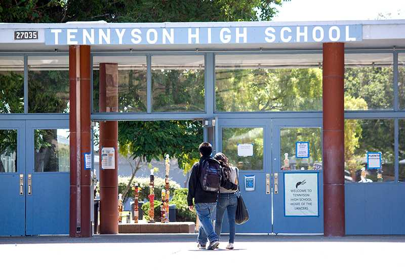 The Made in Hayward campaign seeks to improve education at schools like Tennyson High.