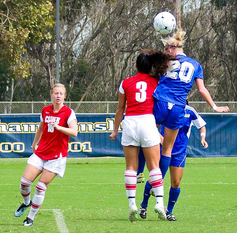 1 percent of college soccer players will go on to play professionally, according to the NCAA.