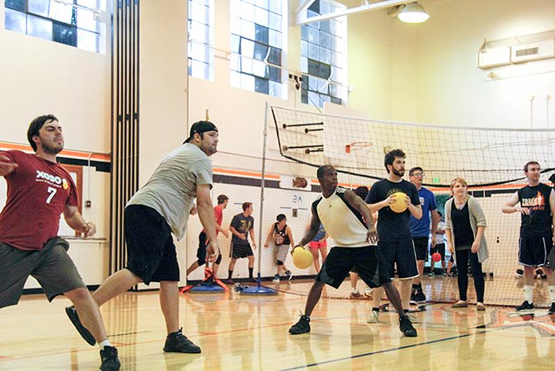 Recreational+Adult+Dodgeball+gives+adults+the+opportunity+to+relive+their+childhood.