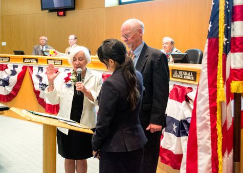 Hayward inaugurates new mayor and council