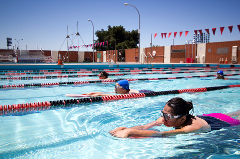Swim lessons offered for faculty and staff