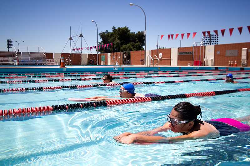 Swim lessons offered for faculty and staff the pioneer Valentine pool swimming lessons