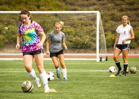 Women's soccer camp searches for new Pioneer talent