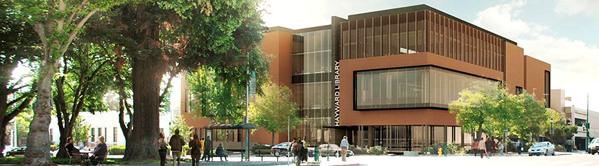The new building will replace the existing library, which was built in 1951.