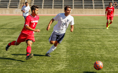 Men's soccer dominates Antelope Valley