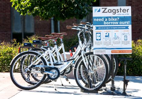 A faster way to zig zag around campus