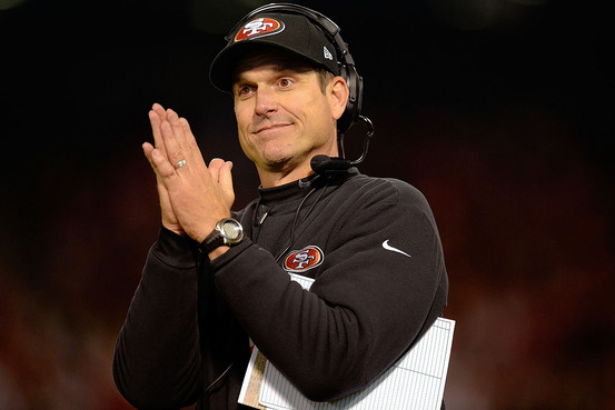 Will Harbaugh wear the silver and black?