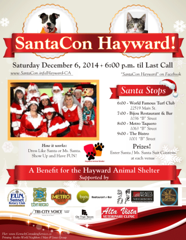Santa Claus convention saves animals
