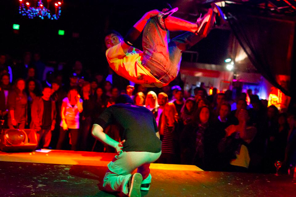B-boy performance from November 6th at Tourrettes Without Regrets at the Oakland Metro Operahouse