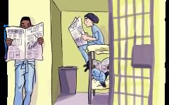 Journalism locked behind state prison bars