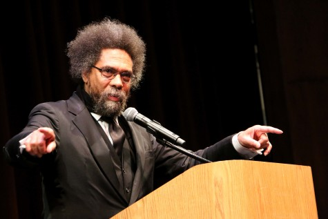 Dr. Cornel West visits CSUEB campus