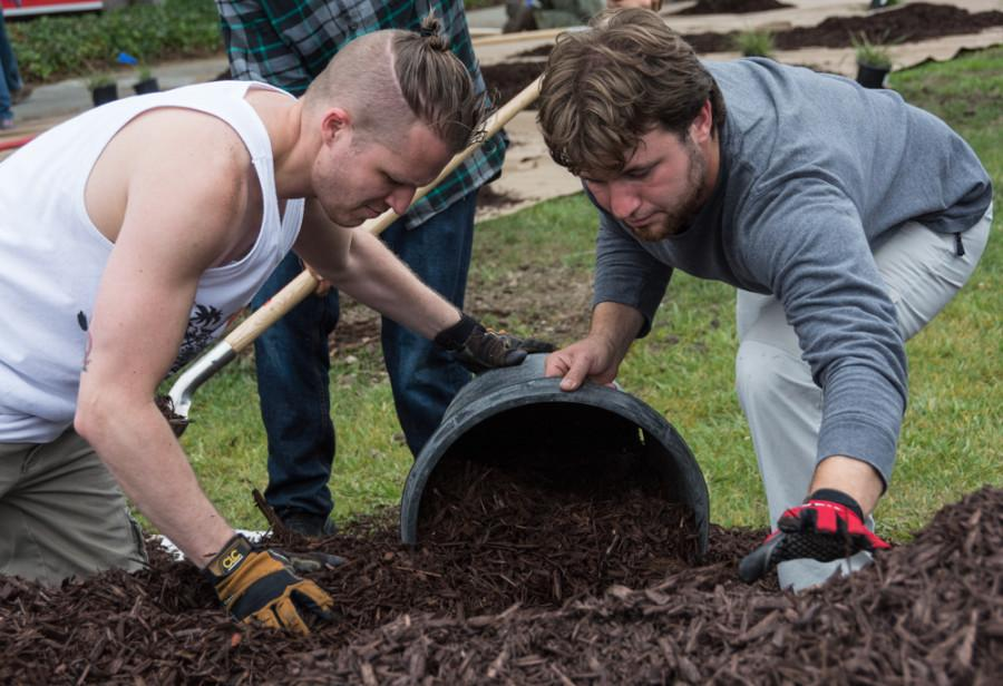 Campus makes botanical conversion