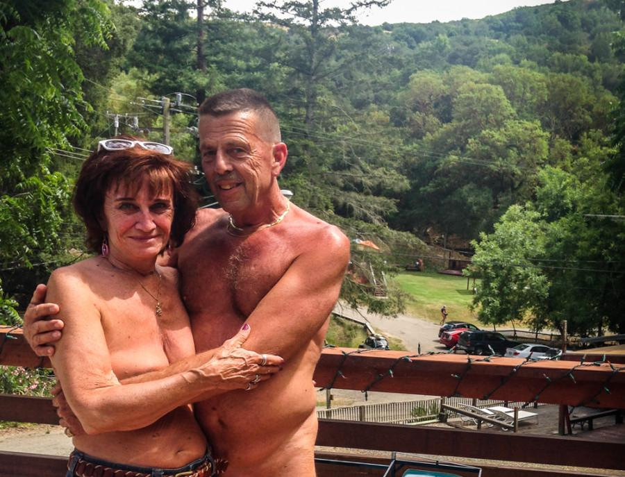 East Bay residents play in the buff