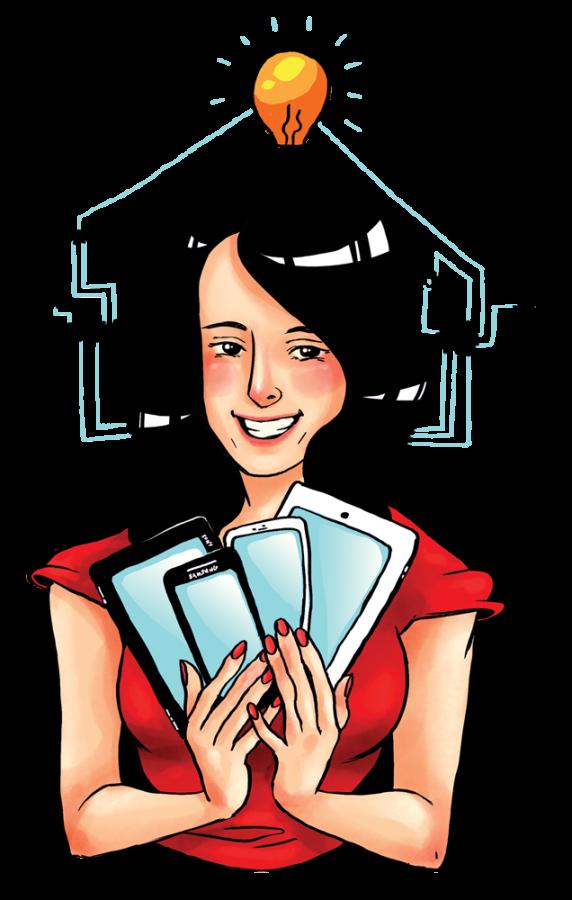 Alumna+guides+community+through+the+tech+world