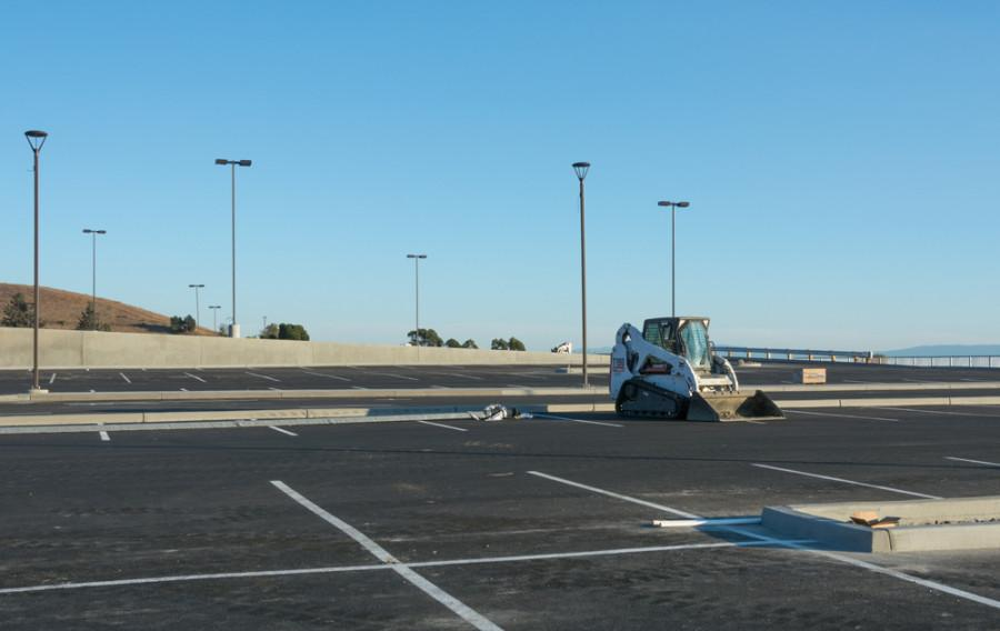 Campus parking lots re-open