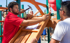 CSUEB students build new playground