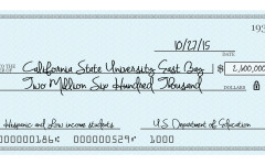 Hispanic, low-income students receive funds