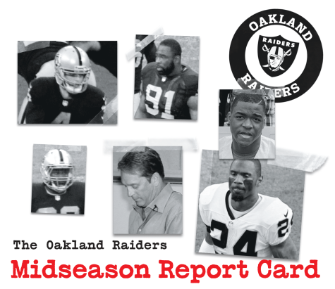 Oakland Raiders midseason report card