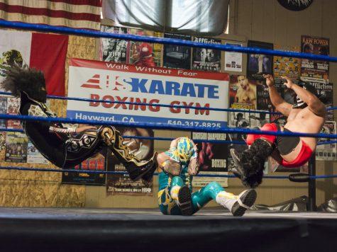 Los luchadores se hacen cargo del gimnasio de Hayward