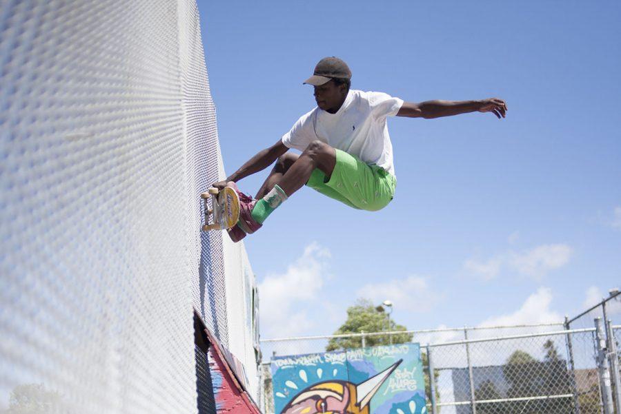 Oakland+skatepark+thrives+one+year+later
