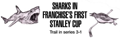 Sharks in franchise's first Stanley Cup