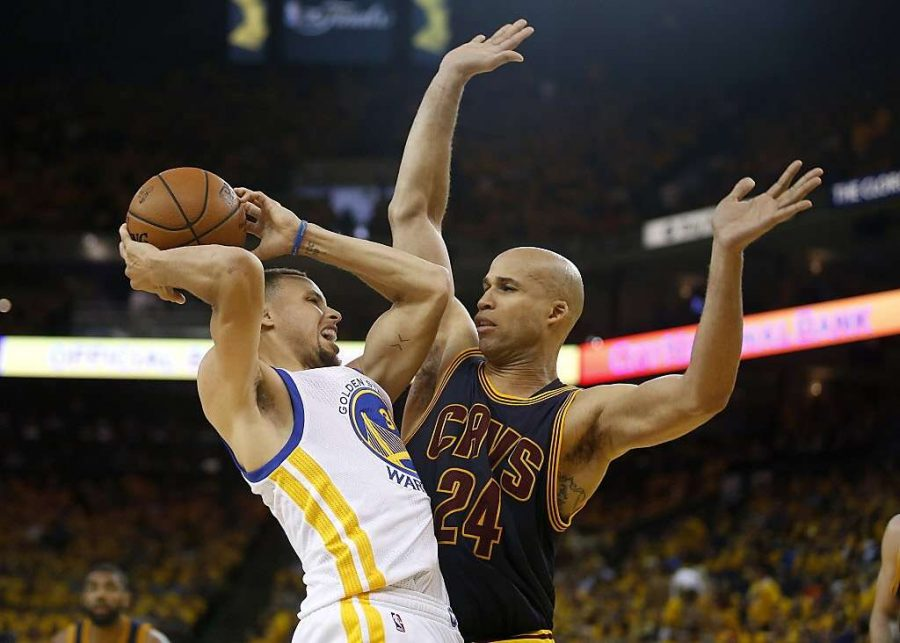 Warriors take charge in first two games of NBA Finals