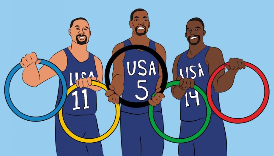 Warriors players bond through Olympics