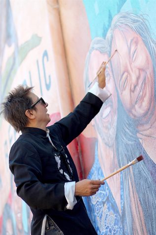 Local artist captures Hayward diversity in mural paintings