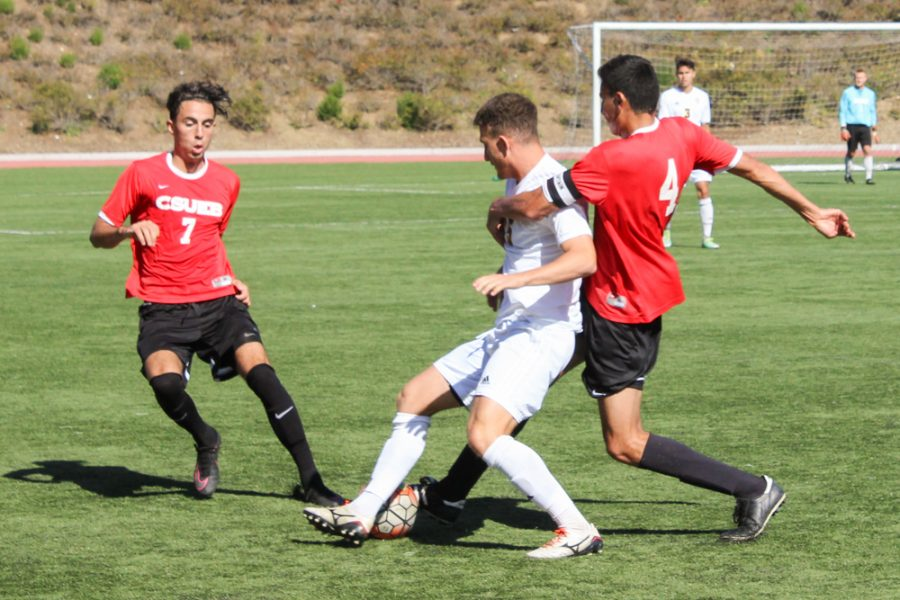 CSUEB men's soccer unable to get a win