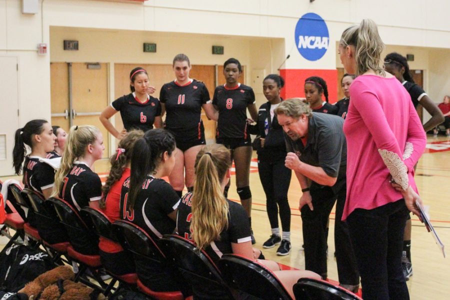 Volleyball qualifies for CCAA Tournament for first time