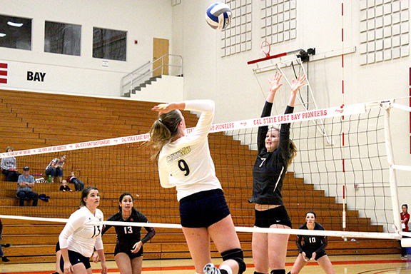 Volleyball keeps up the momentum
