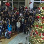 City Hall lights up Downtown Hayward