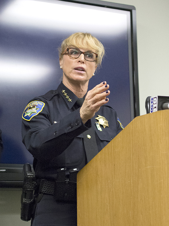 Hayward to begin search for new police chief